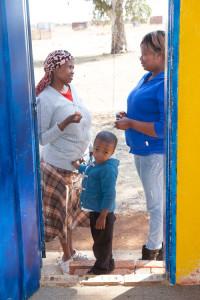 social workers visit