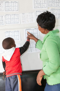 ECD practitioner working in a day care centre in North West province