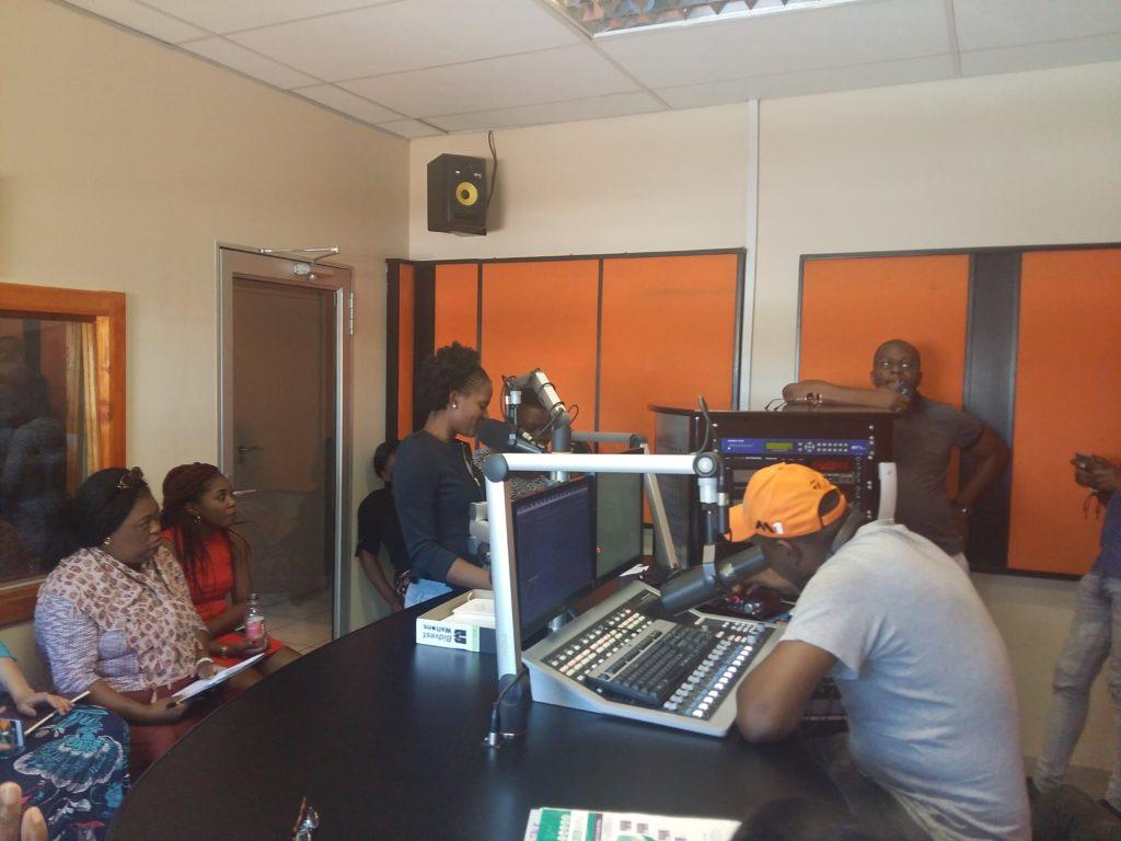 Photo of radio training at Nkomazi FM