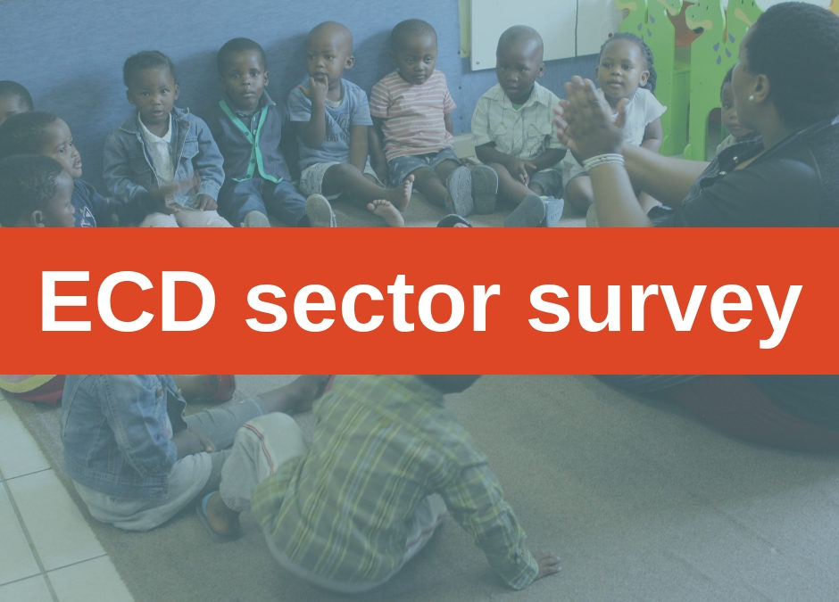Survey to gauge understanding of ECD sector
