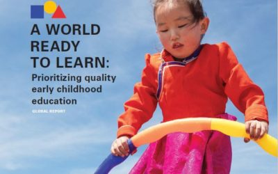 Unicef launches first-ever global report dedicated to early childhood education